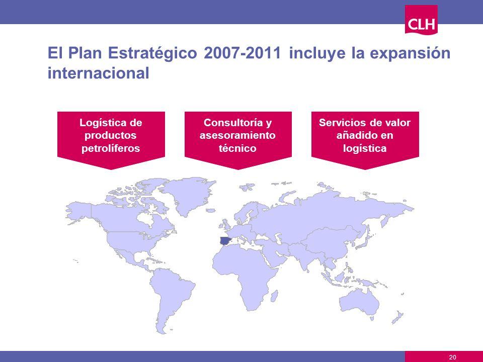 El Plan Estratégico 2007-2011 incluye la expansión internacional