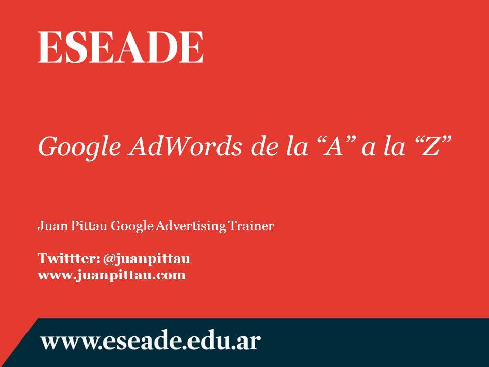 Google AdWords de la A a la Z