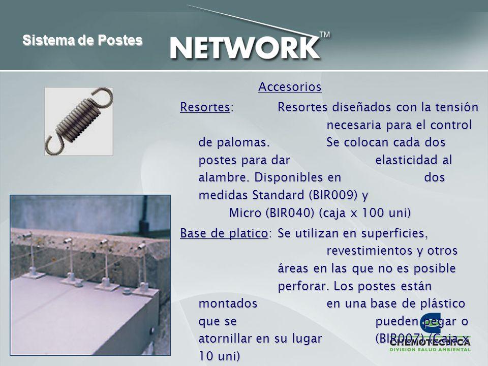 Sistema de Postes Accesorios