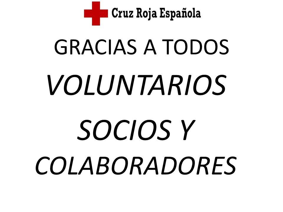 VOLUNTARIOS SOCIOS Y COLABORADORES