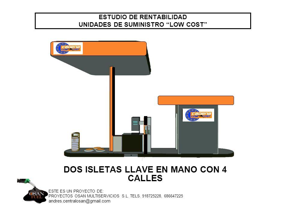 ESTUDIO DE RENTABILIDAD UNIDADES DE SUMINISTRO LOW COST