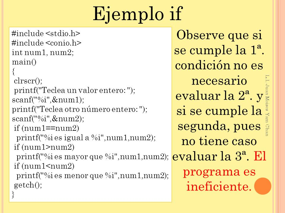 Ejemplo if