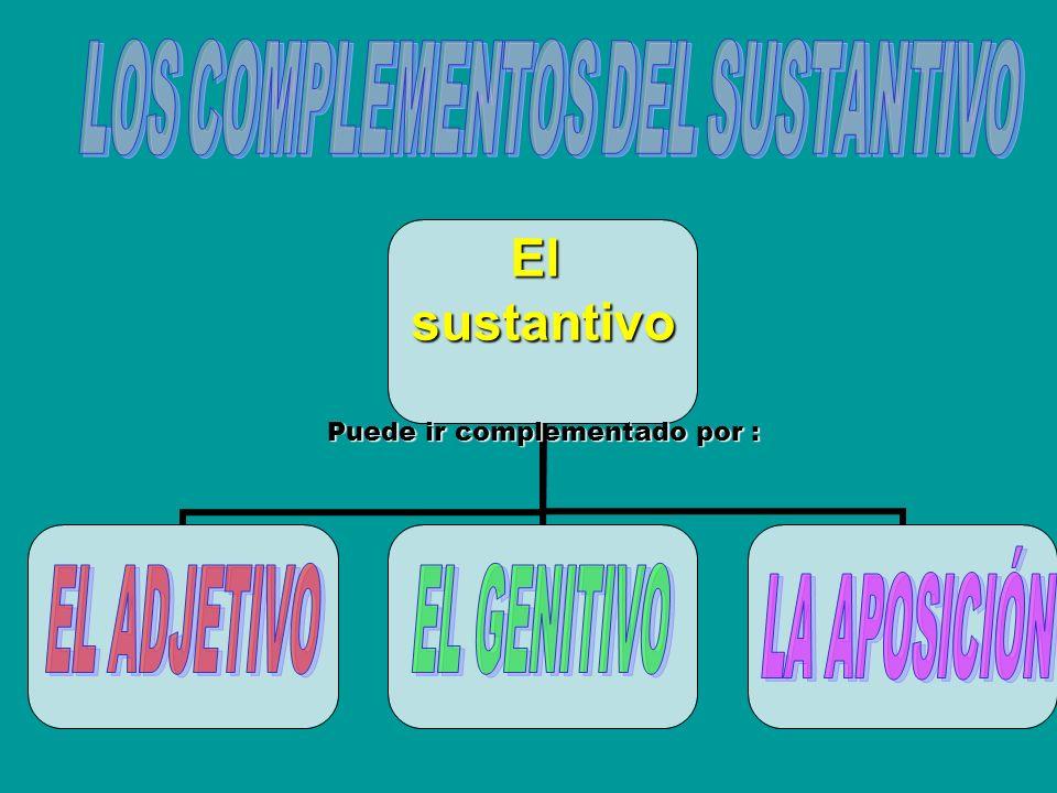 LOS COMPLEMENTOS DEL SUSTANTIVO