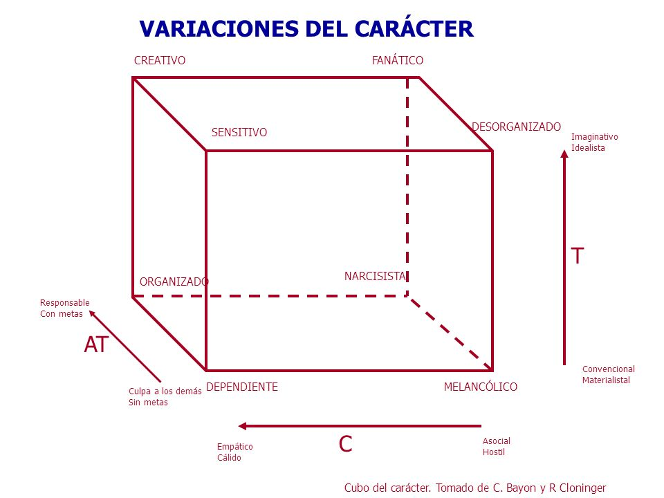 VARIACIONES DEL CARÁCTER