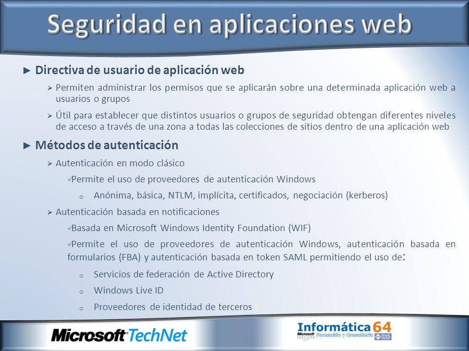 Seguridad en aplicaciones web