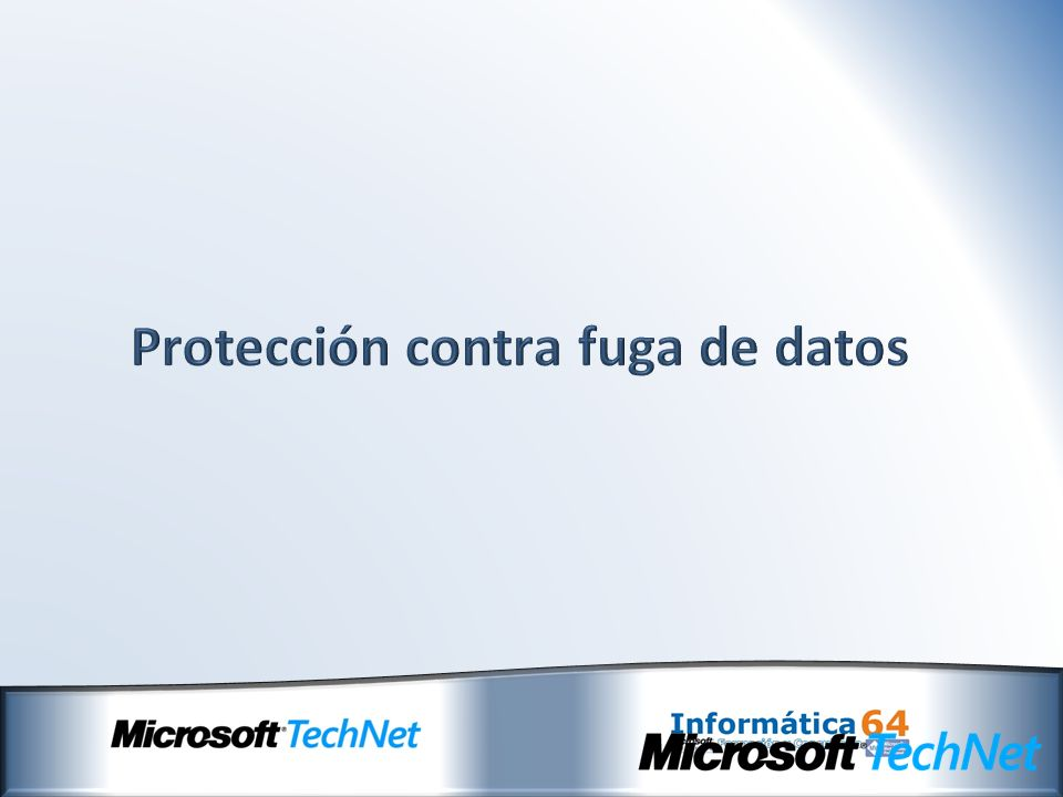 Protección contra fuga de datos