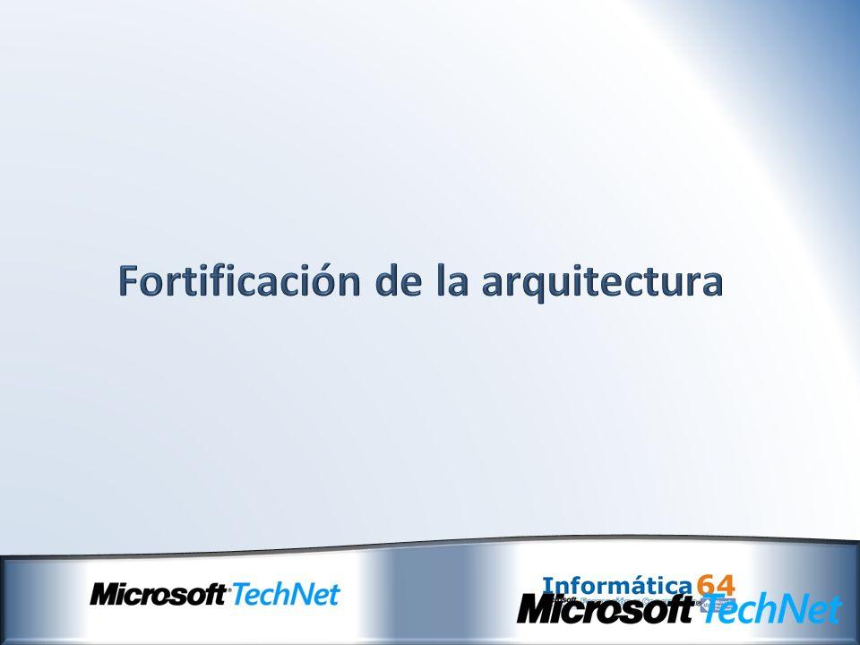 Fortificación de la arquitectura
