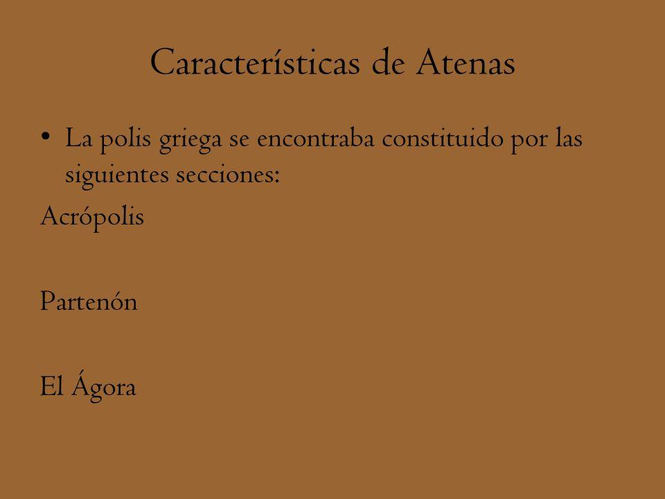 Características de Atenas