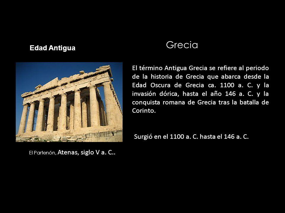 El Partenón, Atenas, siglo V a. C..