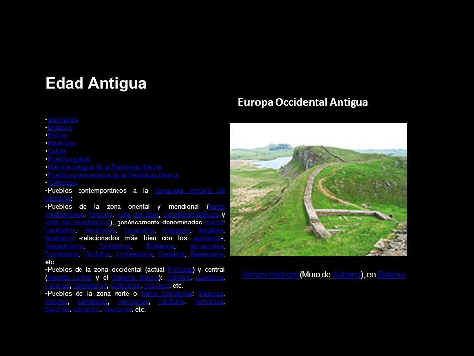 Edad Antigua Europa Occidental Antigua