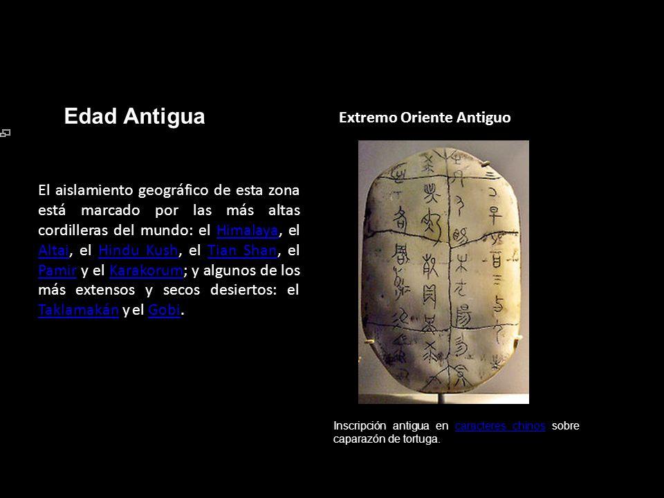 Edad Antigua Extremo Oriente Antiguo