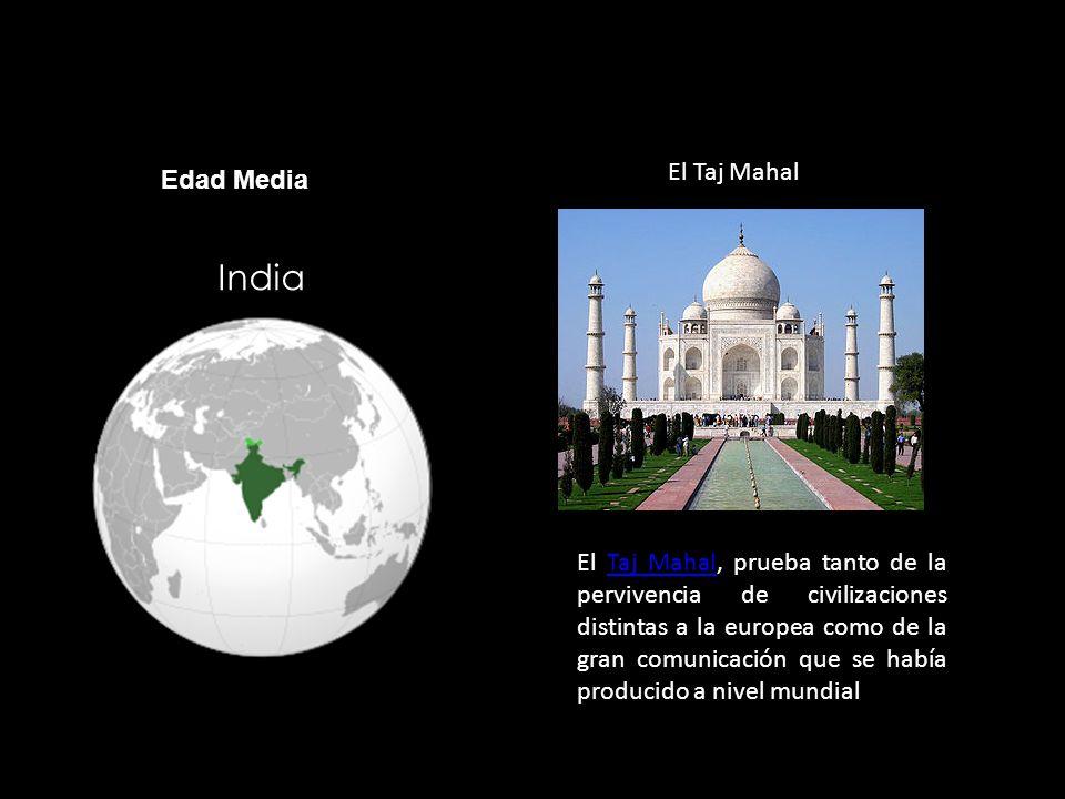 India El Taj Mahal Edad Media