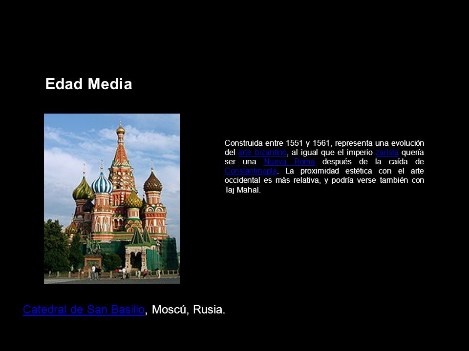 Edad Media Catedral de San Basilio, Moscú, Rusia.