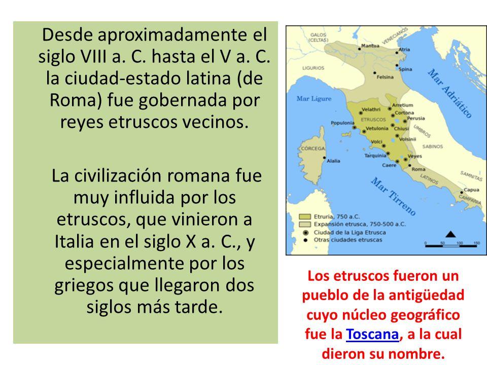 Desde aproximadamente el siglo VIII a. C. hasta el V a. C
