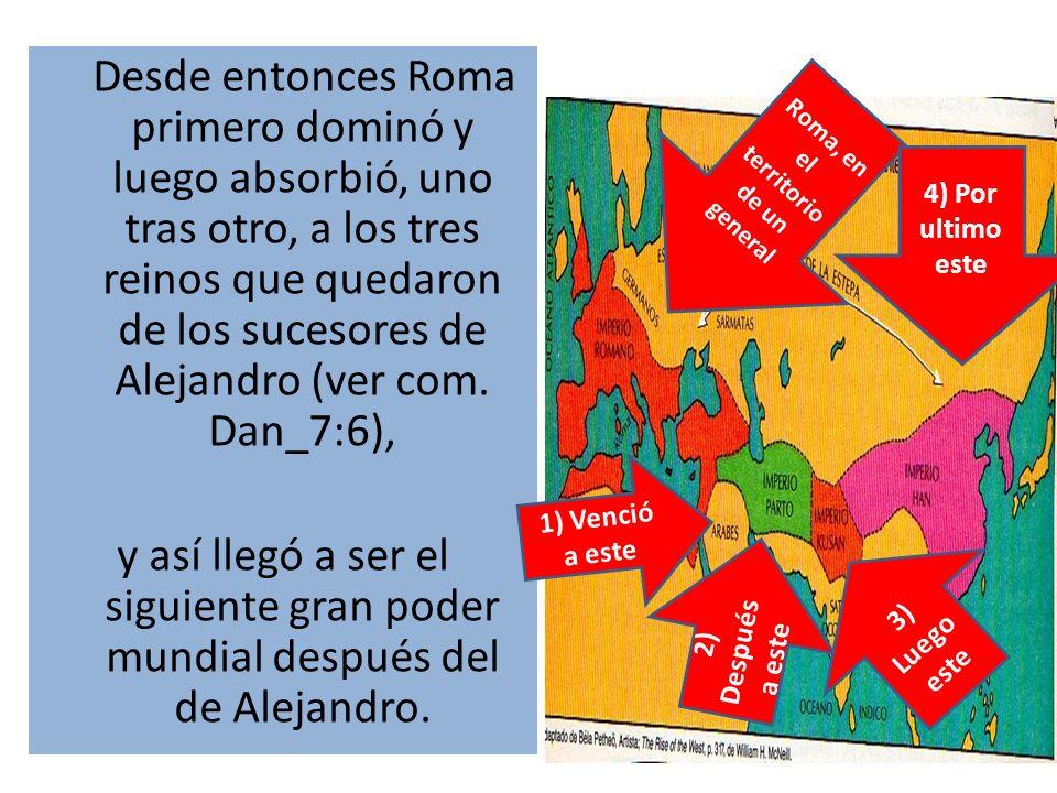 Roma, en el territorio de un general