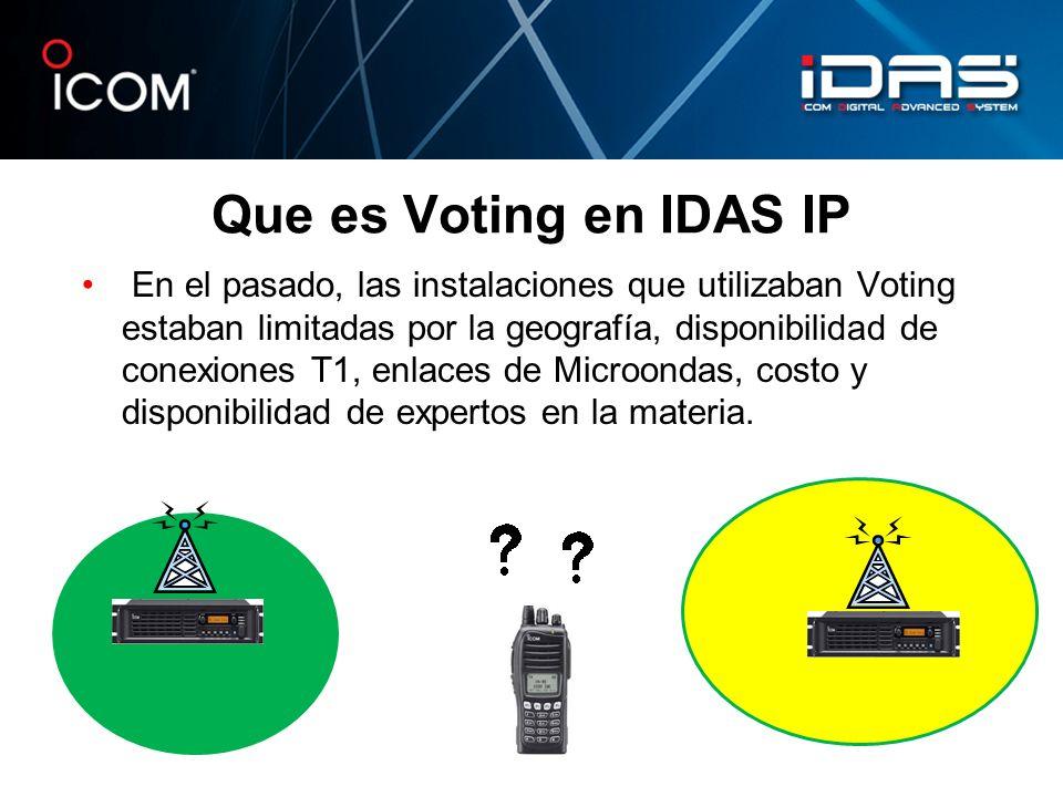 Que es Voting en IDAS IP