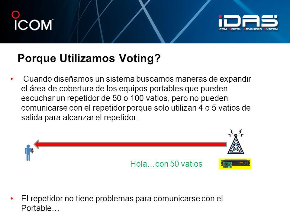 Porque Utilizamos Voting