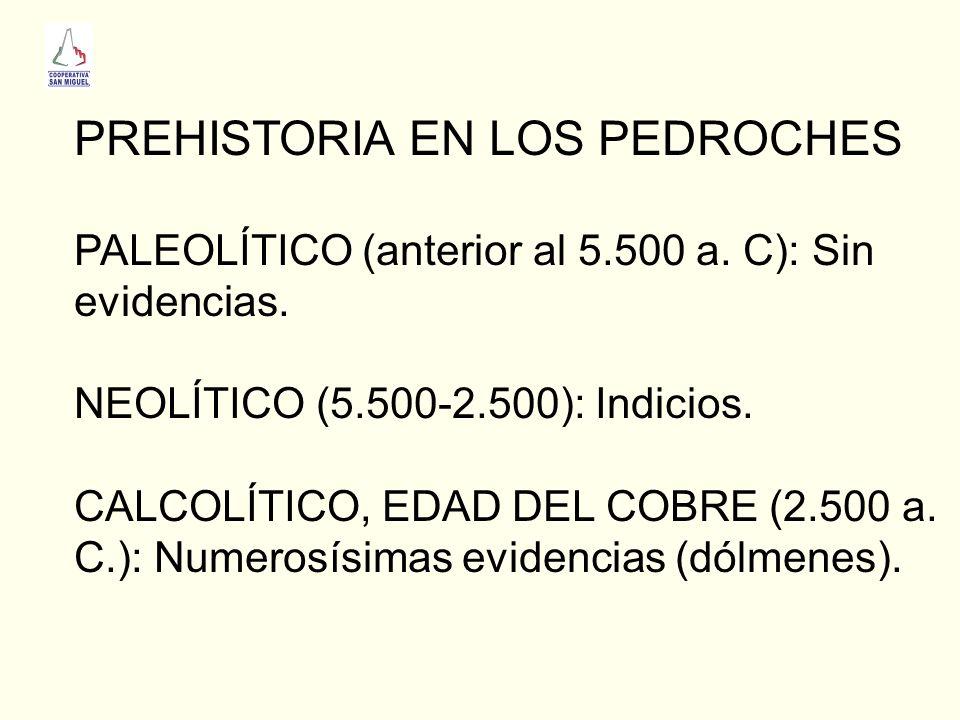 PREHISTORIA EN LOS PEDROCHES