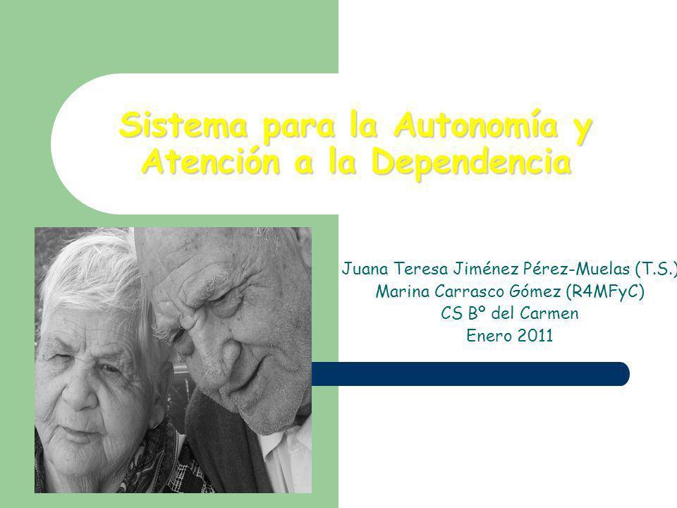 Sistema para la Autonomía y Atención a la Dependencia