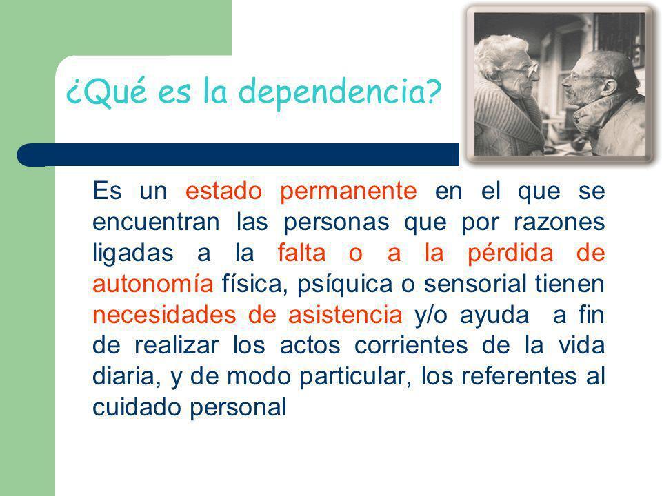 ¿Qué es la dependencia