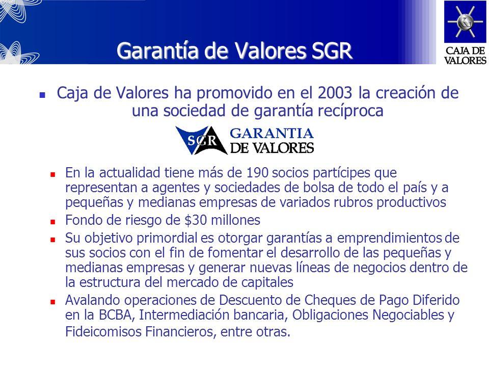 Garantía de Valores SGR