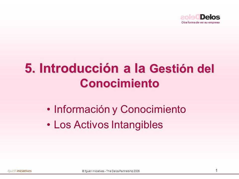 5. Introducción a la Gestión del Conocimiento
