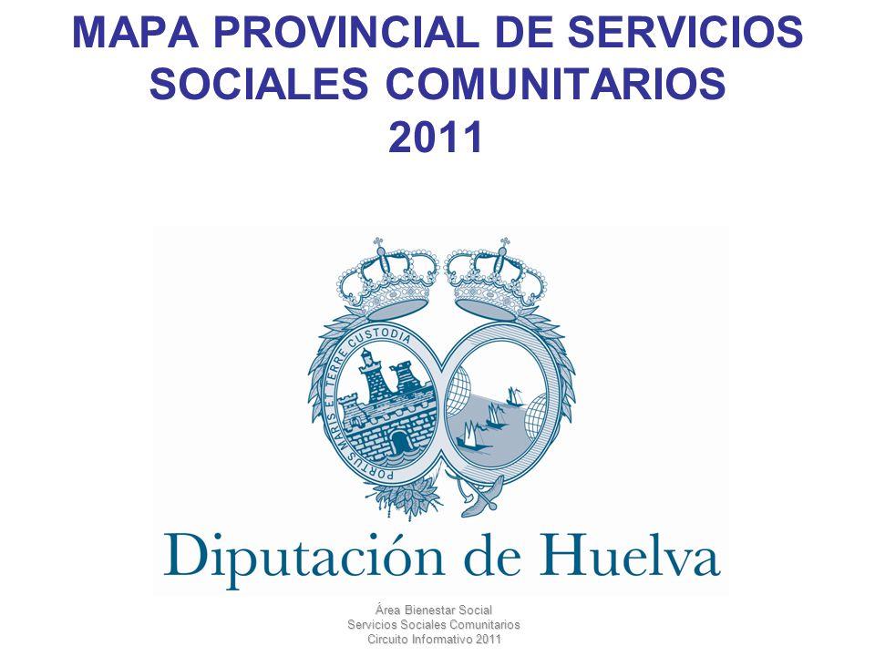 MAPA PROVINCIAL DE SERVICIOS SOCIALES COMUNITARIOS 2011