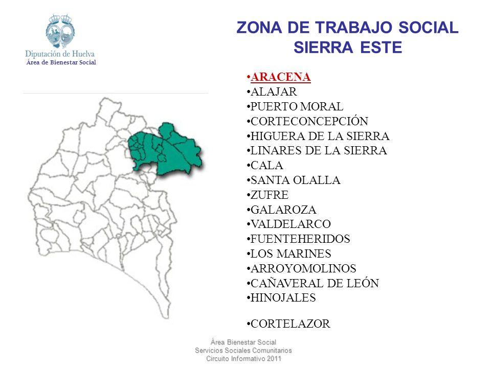 ZONA DE TRABAJO SOCIAL SIERRA ESTE