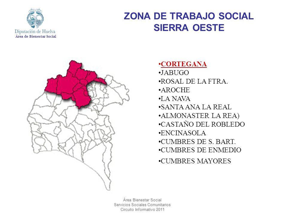 ZONA DE TRABAJO SOCIAL SIERRA OESTE