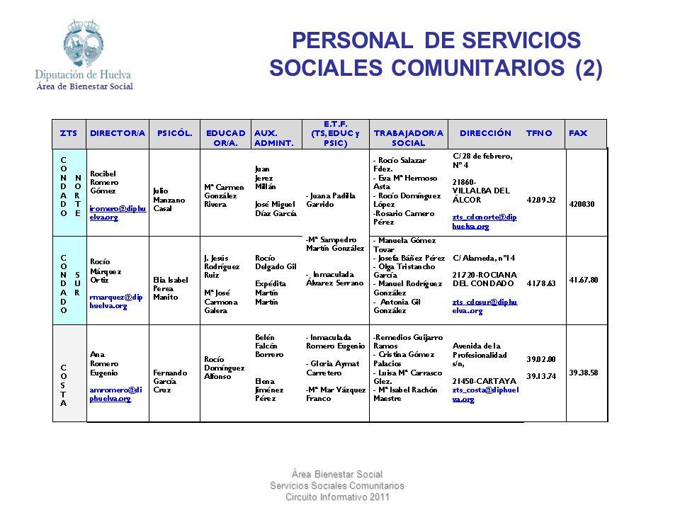 PERSONAL DE SERVICIOS SOCIALES COMUNITARIOS (2)