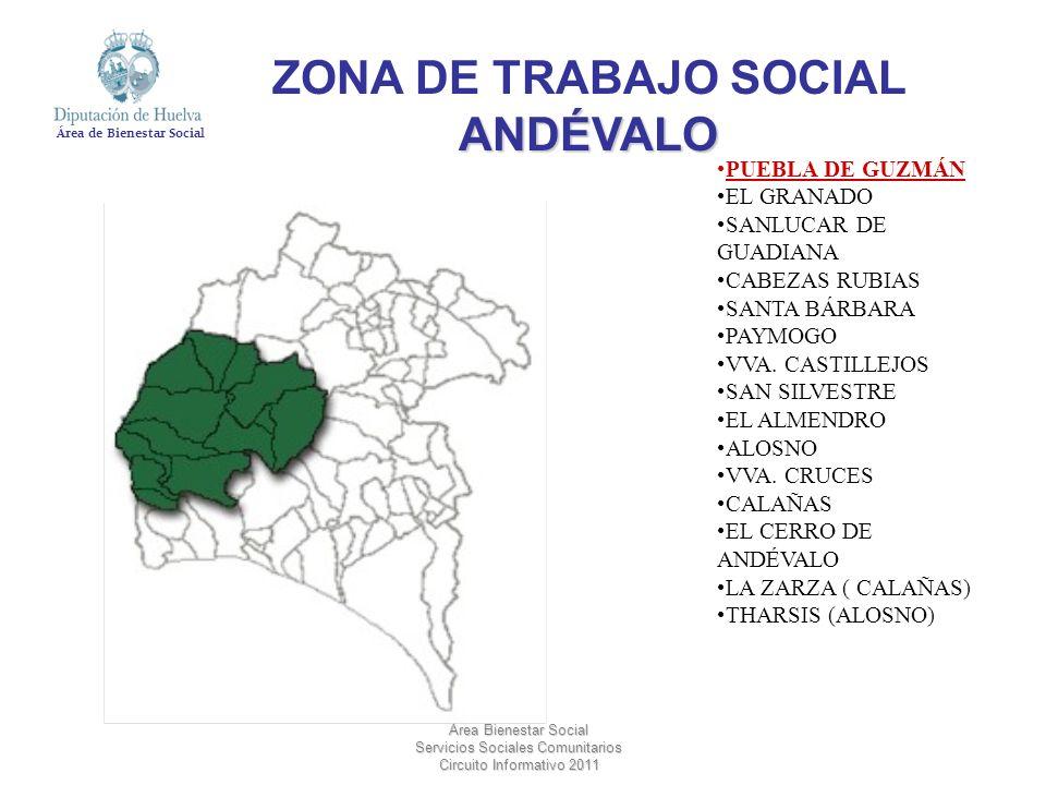 ZONA DE TRABAJO SOCIAL ANDÉVALO