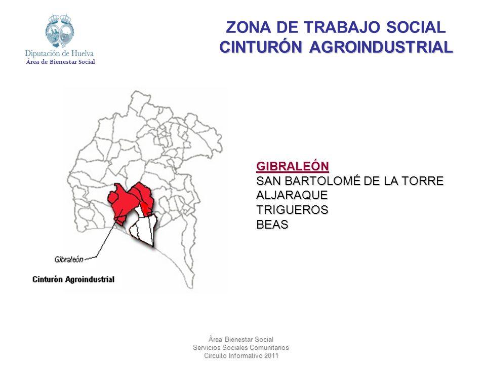 ZONA DE TRABAJO SOCIAL CINTURÓN AGROINDUSTRIAL