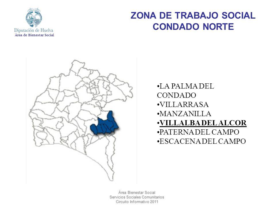 ZONA DE TRABAJO SOCIAL CONDADO NORTE
