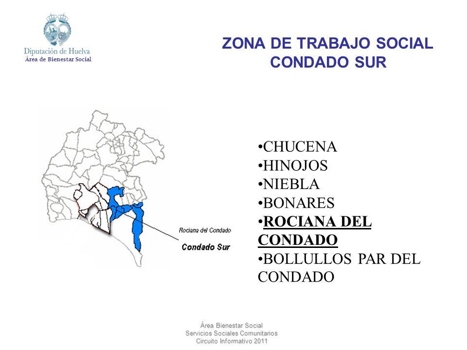 ZONA DE TRABAJO SOCIAL CONDADO SUR