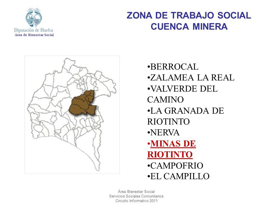 ZONA DE TRABAJO SOCIAL CUENCA MINERA
