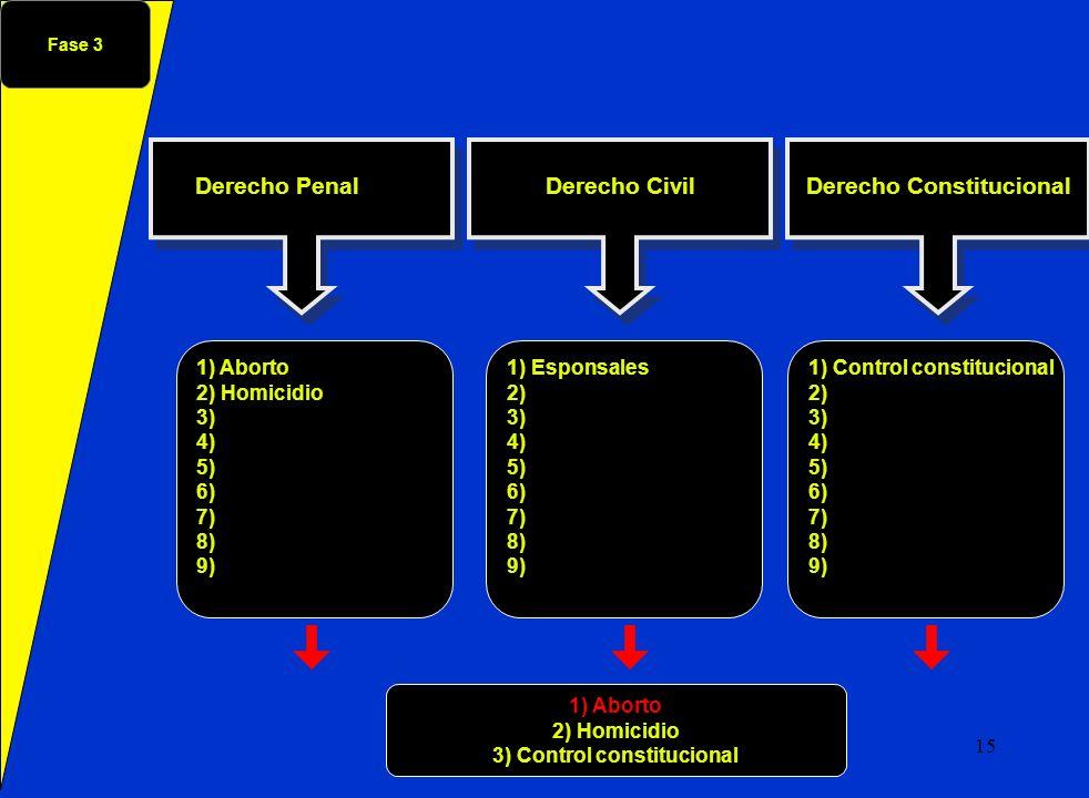 Derecho Constitucional 3) Control constitucional
