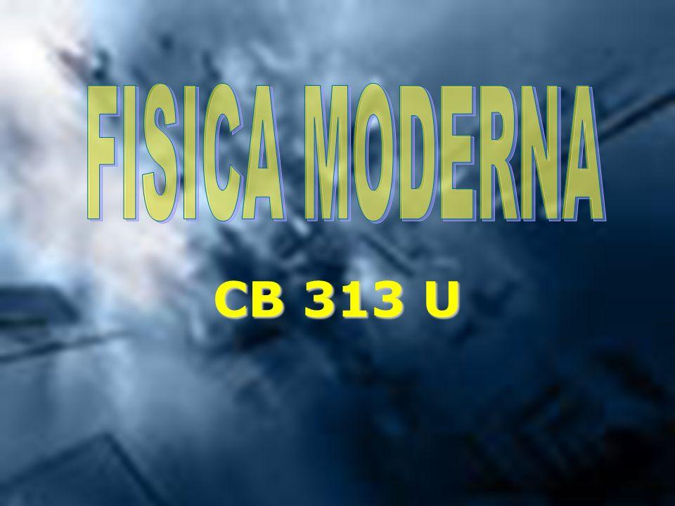 FISICA MODERNA CB 313 U