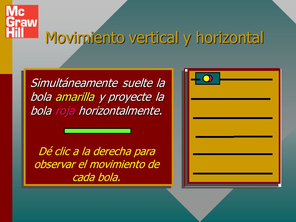 Movimiento vertical y horizontal