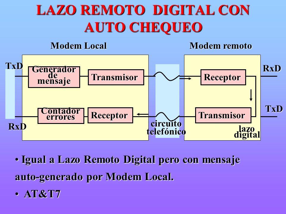LAZO REMOTO DIGITAL CON AUTO CHEQUEO