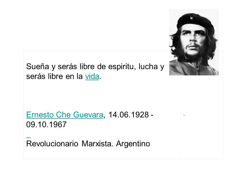 Revolucionario Marxista. Argentino