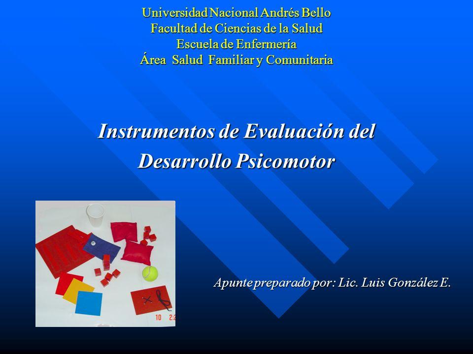 Instrumentos de Evaluación del