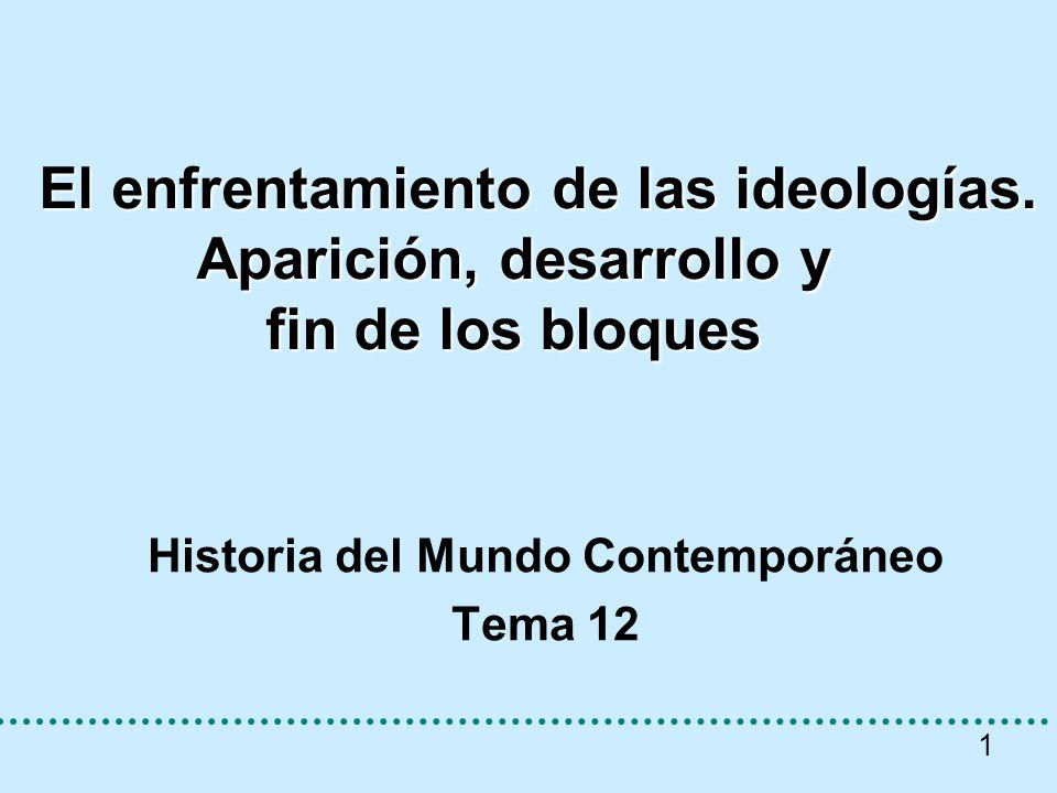 Historia del Mundo Contemporáneo Tema 12