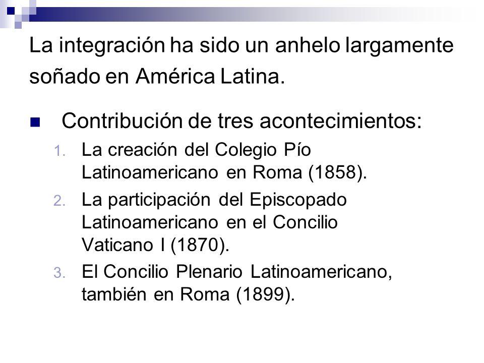 La integración ha sido un anhelo largamente soñado en América Latina.