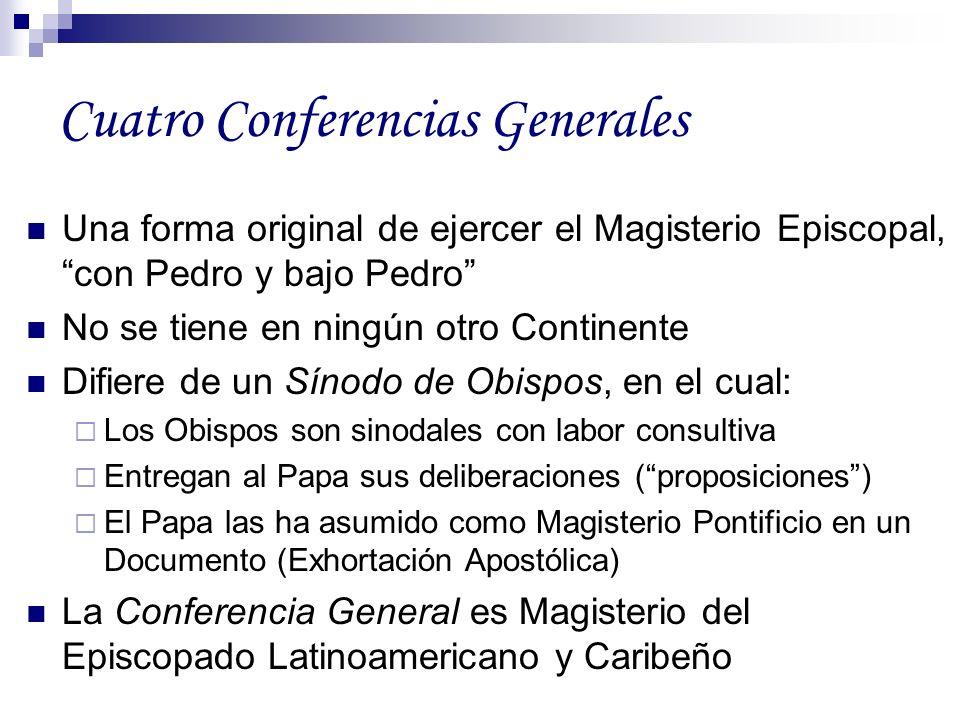 Cuatro Conferencias Generales