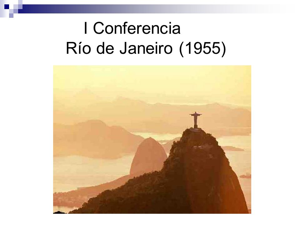I Conferencia Río de Janeiro (1955)