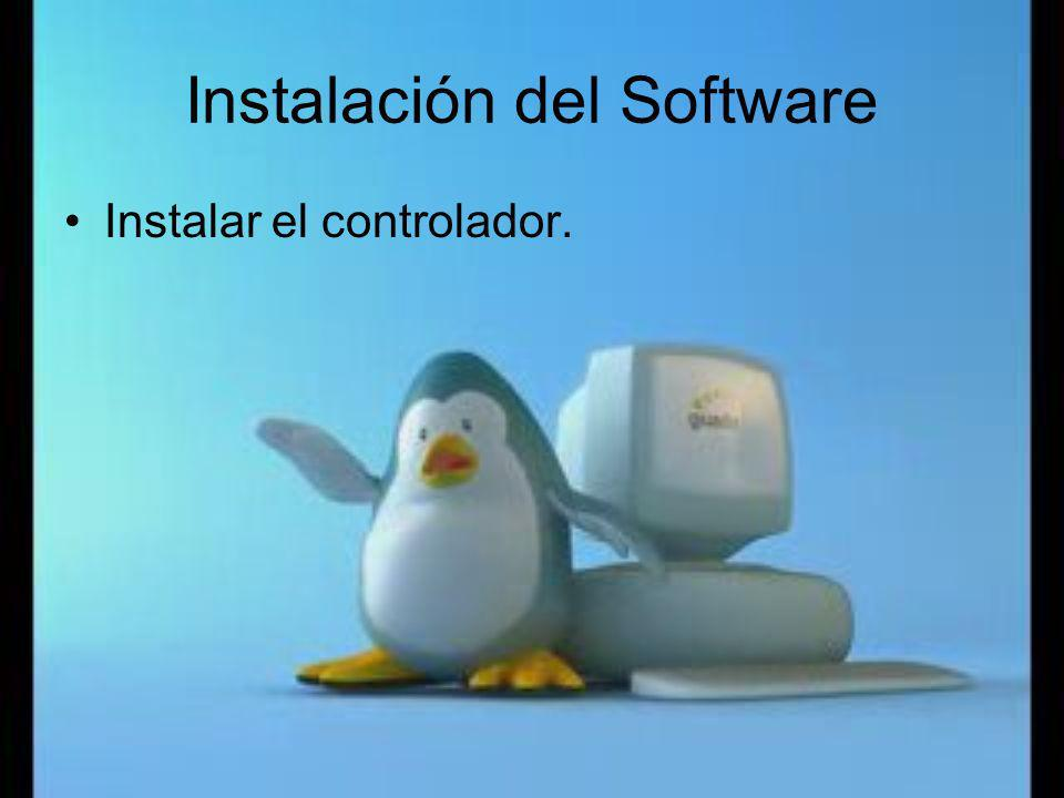 Instalación del Software