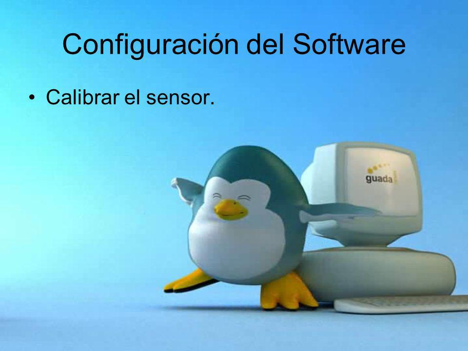Configuración del Software