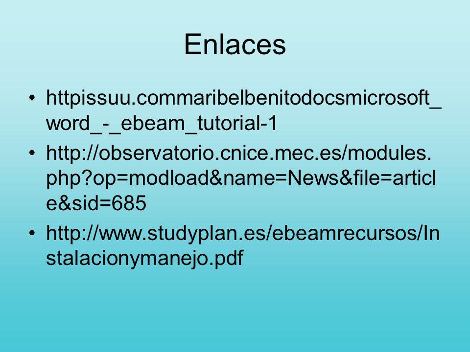 Enlaces httpissuu.commaribelbenitodocsmicrosoft_word_-_ebeam_tutorial-1.