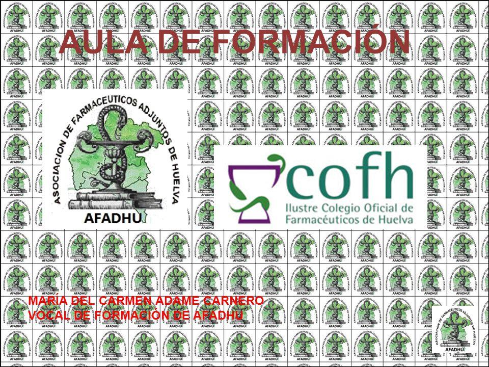 AULA DE FORMACIÓN MARÍA DEL CARMEN ADAME CARNERO