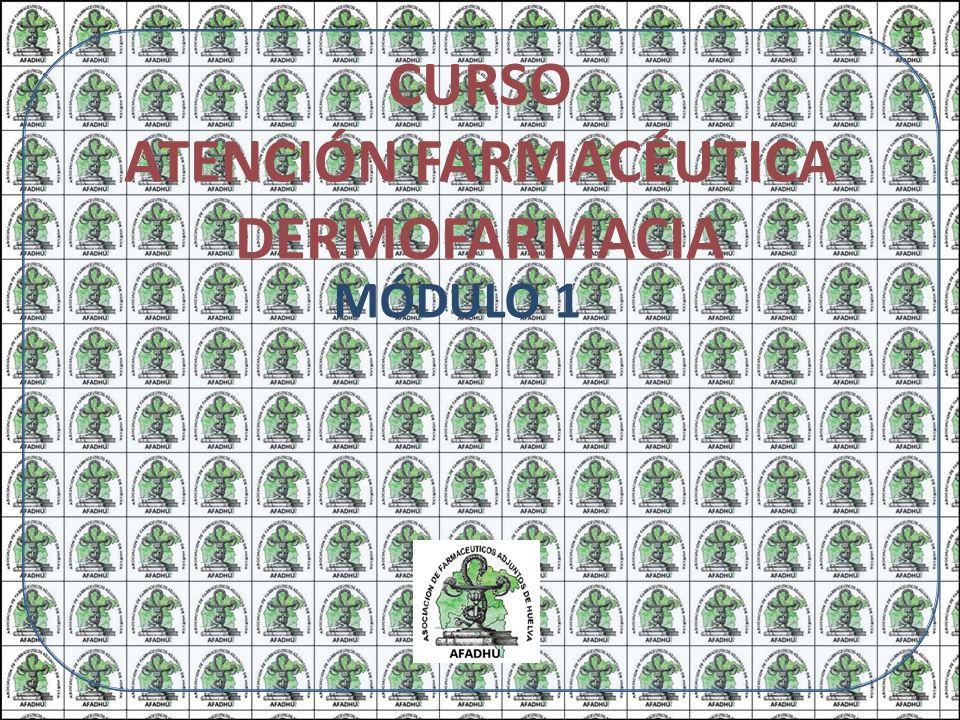 CURSO ATENCIÓN FARMACÉUTICA DERMOFARMACIA